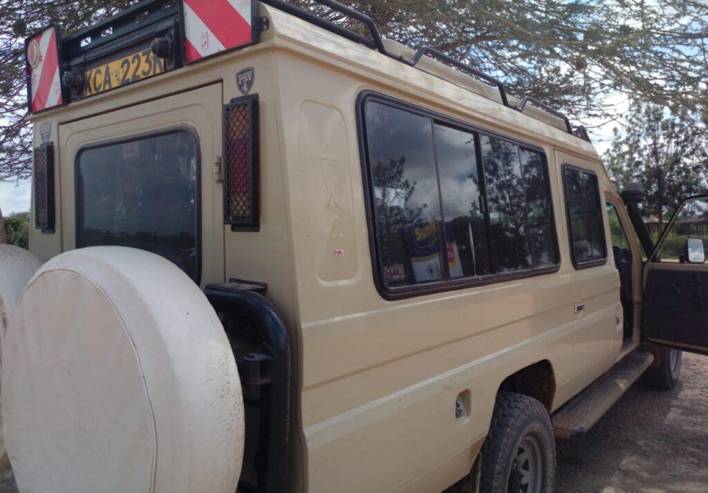 Toyota Land Cruiser Jeep Safari & Camping Car hire Nairobi Kenya