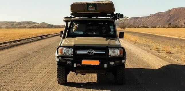 Toyota Land Cruiser 4x4 Jeep for Safari & Camping Rental Nairobi Kenya