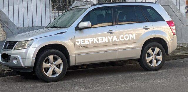 Safari 4×4 Jeep SUVs Self-Drive Suzuki Car Hire Nairobi Kenya