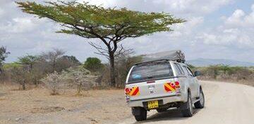 Toyota Hilux Double Cab Jeep Self-Drive Camping car Rental Nairobi Kenya